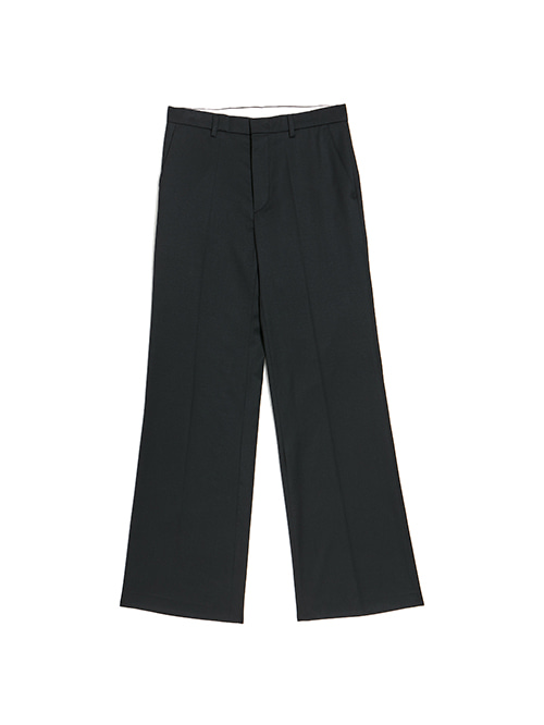 BLACK BOOTSCUT TROUSER
