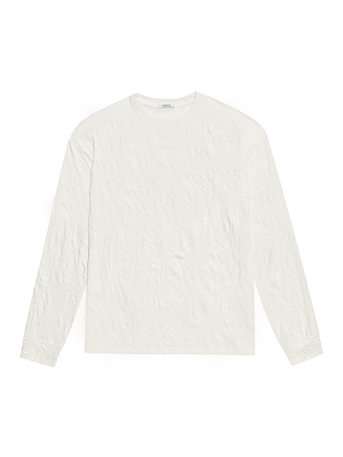 wrinkle T-shirts (off white)