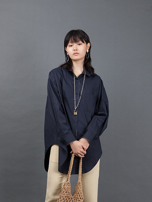 RAW EDGE LONG SHIRTS