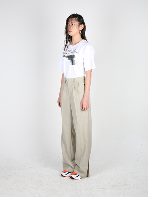 SIDE DETAIL TROUSER